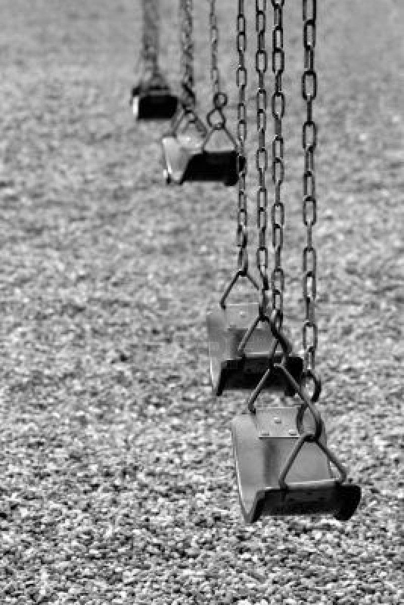 playground swings no kids